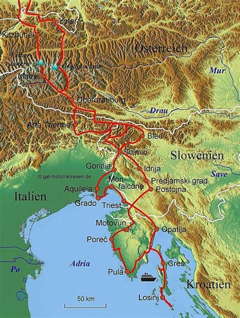 Motorradfahren Slowenien motorradreise slowenien gef 252 hrte motorradtouren
