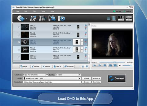 format audio for iphone tipard dvd to iphone converter rip dvd to iphone video