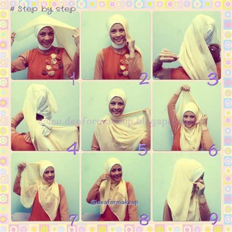 lihat tutorial berhijab tutorial hijab styling for eid ul fitr dea karhitawinata