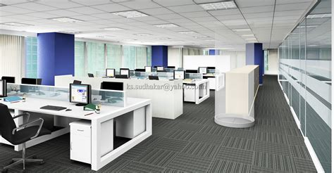 Office Of The Of The Interior by Interior Renderings By Sudhakar K S At Coroflot