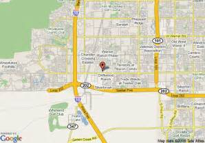 map chandler arizona map of comfort inn chandler chandler