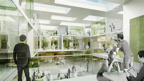 Architect Education And by Gallery Of Research And Educational Building For Technical Denmark Christensen Co