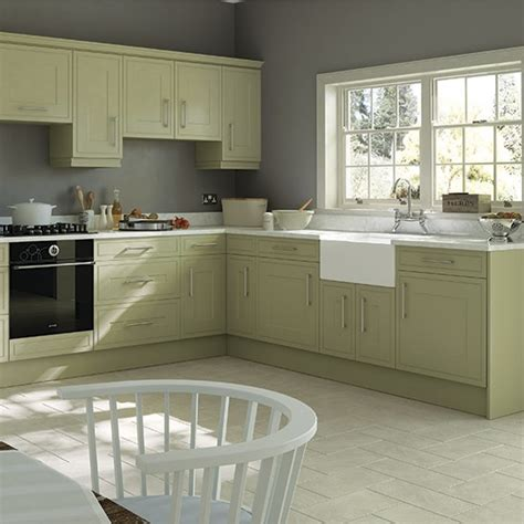 traditional style kitchen with olive cabinetry green kitchen colour ideas home trends