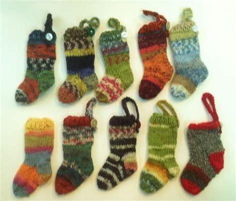 christmas pattern sock yarn make mini sock yarn christmas stockings christmas