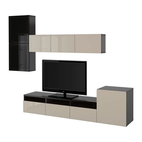 besta tv storage best 197 tv storage combination glass doors black brown