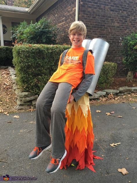 diy jet pack illusion costume photo