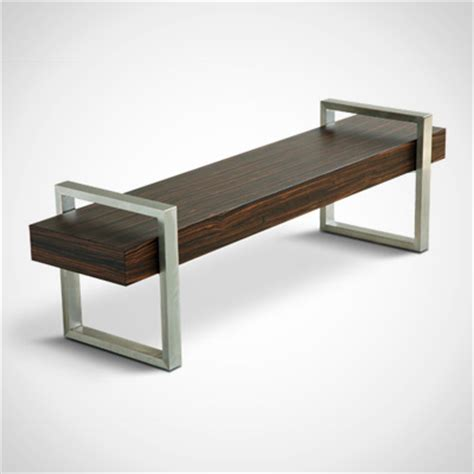 return bench gus modern return bench grid furnishings