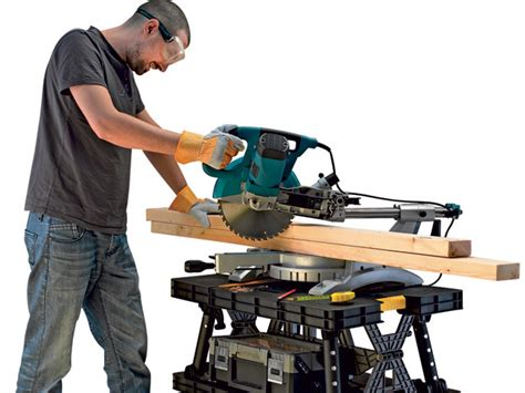 bench saw safety how to work safely with a miter saw easy five steps
