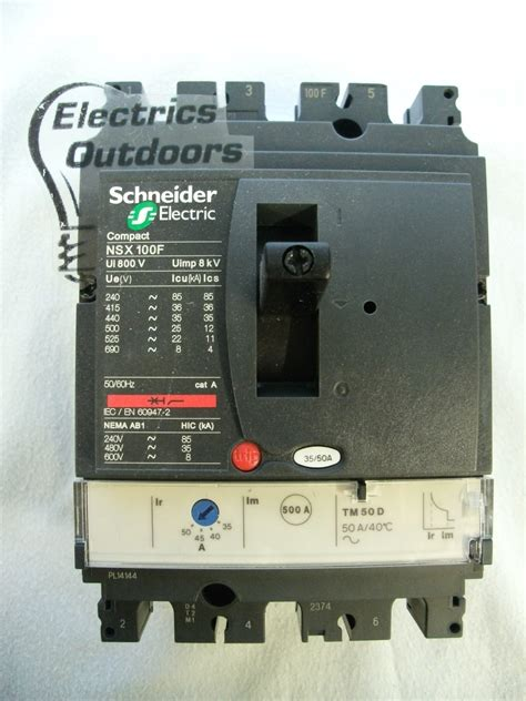 mccb schneider compact nsx 100f schneider electric 50 amp pole mccb compact nsx