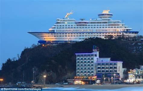 resort cruise the hotel that s ship shape south korean