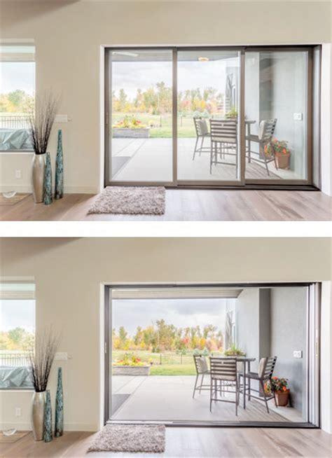 multi slide patio doors wood clad and primed windows doors