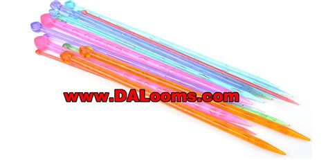 loom knitting needles transparent plastic knitting needles 171 manufacturer
