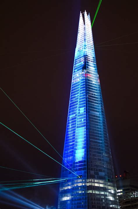 The Shard At Night | 16 incredible the shard pictures at night