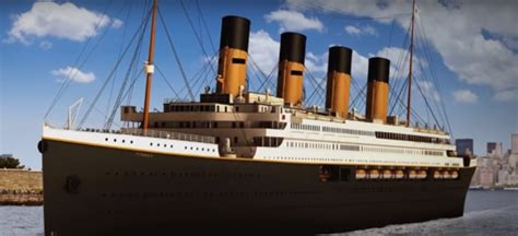 new titanic boat tickets the return of a legend the titanic ii to set sail in 2018