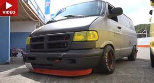 japan s strange affair with dodge racing vans