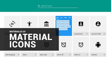 material design icon excel material design icons material icons contact map icons