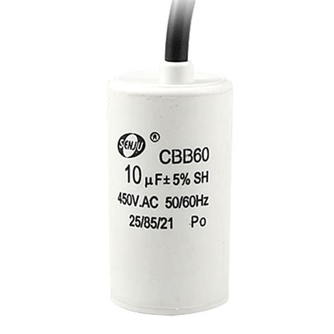 cbb60 capacitor 10uf 370vac sourcingmap 174 10uf 5 450v ac motor running capacitor cbb60 for washing machine