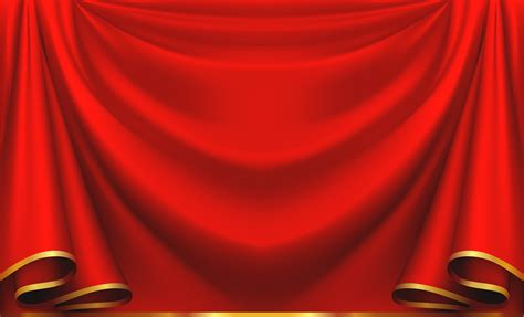 Red Curtain PNG Clipart Image   Gallery Yopriceville   High Quality Images and Transparent PNG