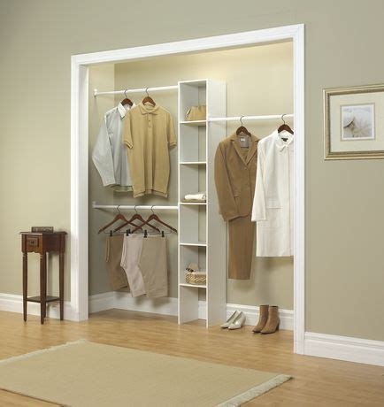closetmaid 174 4 ft to 9 ft closet organizer walmart canada