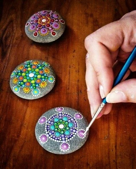 Painted Rocks For Garden Painted Rocks For The Garden Natures Beautiful Creations Pinterest