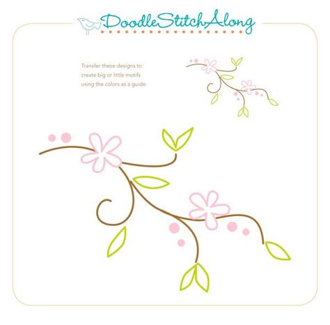 free doodle embroidery patterns 35 best embroider it flowers free patterns and