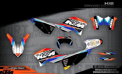 dekor shop lizenzierte ktm dekore mx kingz motocross shop