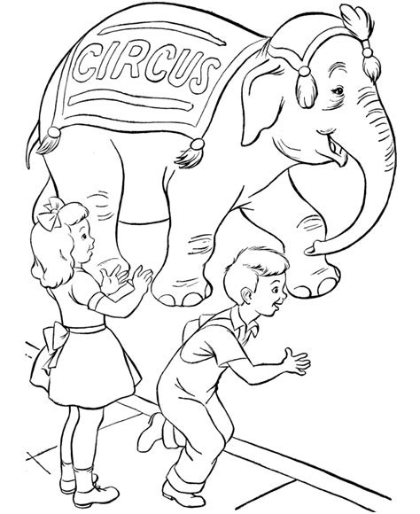 printable coloring pages circus free printable circus coloring pages for