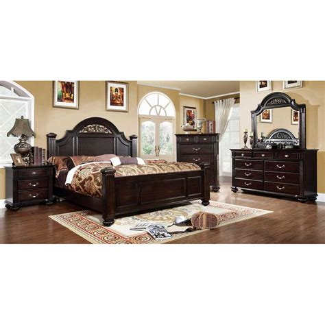 6 Size Bedroom Set by Import Direct 6 Cal King Bedroom Set