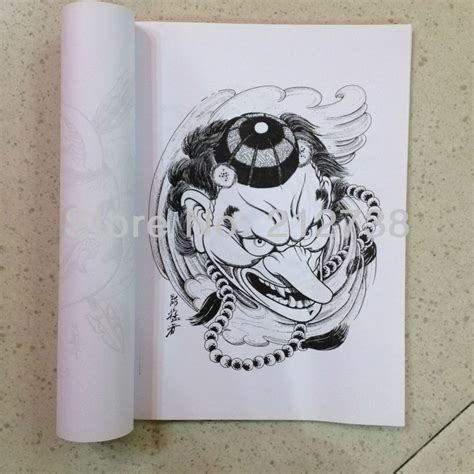 hannya mask tattoo book hannya mask tattoo design reference by horimouja japanese