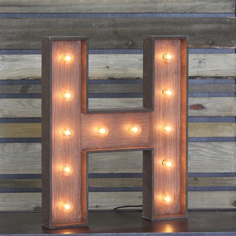 Chandeliers Online Edison Marquee Letter Quot H Quot Town Amp Country Event Rentals