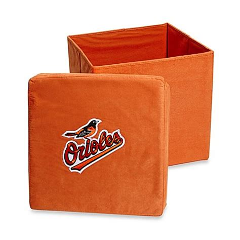 bed bath and beyond baltimore baltimore orioles collapsible storage ottoman bed bath