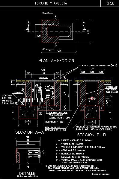 hydrant  valve box dwg block  autocad designs cad