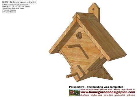 hummingbird house plans home garden plans bh102 bird house plans construction bird house design how to