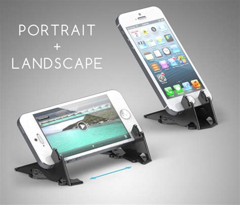 pocket tripod credit card sized iphone stand