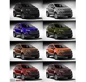Ford Ecosport Colours 2013 Fiesta Interior Car Re