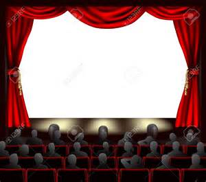 Home Theater Drapes Theater Stage Clipart 72