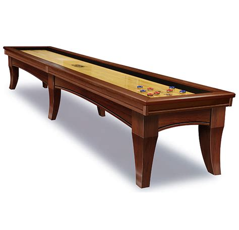 table shuffle board chicago shuffleboard table by olhausen