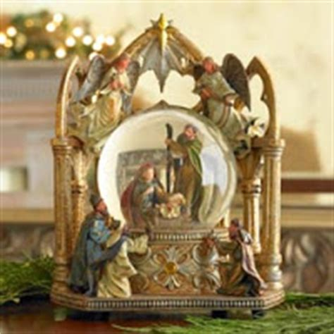 mark roberts musical creche globe decorating nativity beautymommy