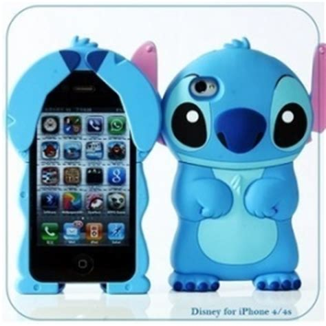Casing Iphone 55s Stitch Silicon iphone4 4s cases accessories wholesale digitopz