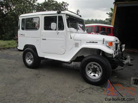 1980 Toyota Land Cruiser For Sale 1980 Fj40 Bj40 Toyota Land Cruiser Diesel