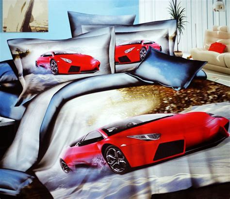 queen size race car bed 3d race cars cotton bedding comforter set queen size