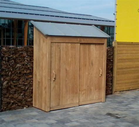 tuin kast hout eiken tuinkast voor een robuuste eyecatcher en meer ruimte