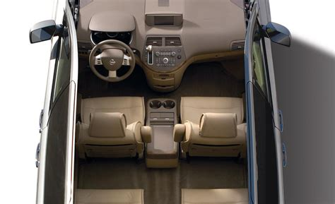 minivan nissan quest interior car and driver
