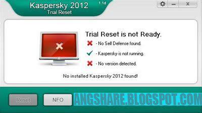 kaspersky antivirus 2012 trial resetter kaspersky 2012 trial reset v1 1d download software full