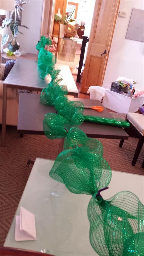 nadias diy projects diy deco mesh garland