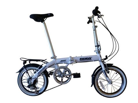 16 inch bike solorock 16 inch 7 speed steel folding bike review folding bike critic