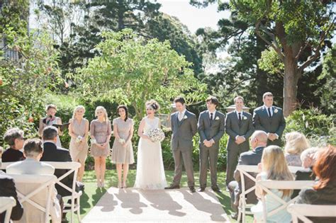 Sydney Botanical Gardens Wedding Nicky And S Sydney Botanic Gardens Wedding Polka Dot