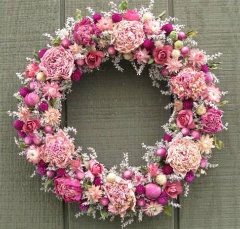 dried flower wreath promotion shop for promotional dried victorian cottage garden dried flower wreath floral