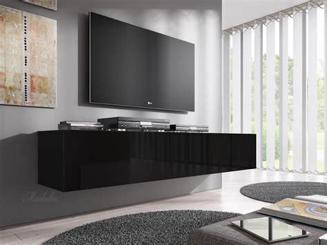 tv meubel flame tv meubel flame zwart 160 cm meubella