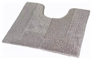 thick bath mats silver gray thick plush reversible cotton bathroom rug